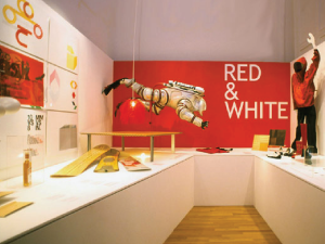 Red & White Exhibition