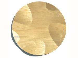Wood Steel Trays